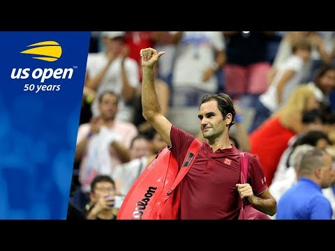 2018 US Open Top 5 Points: Roger Federer