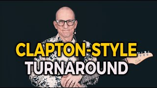 Learn a Clapton style Turnaround in E