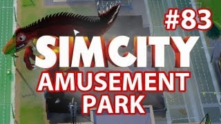 SimCity Amusement Park DLC - Walkthrough Part 83 - DAM LIZARD