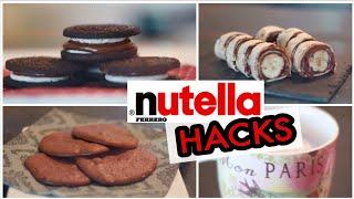 NUTELLA HACKS die jeder kennen sollte! | Kisu