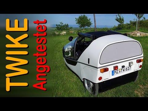 TWIKE TW617 - Angetestet - Der erste echte Sportwagen - GoPro 4 - Full HD 1080p