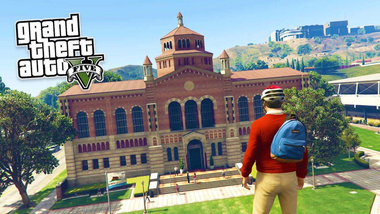 GTA 5 PC Mods - REAL LIFE MOD #1! GTA 5 School & Jobs Roleplay Mod Gameplay! (GTA 5 Mod Gameplay