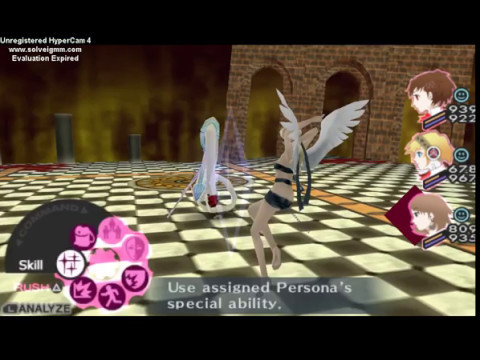 Persona 3 psp mod: Nocturne style (Hitoshura & co) by I am Me