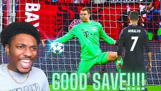 NBA Fan Reacts To 100 Brilliant Saves By Manuel Neuer!!!