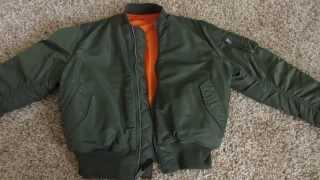 Летная куртка / Alpha Industries MA-1 Flight Jacket