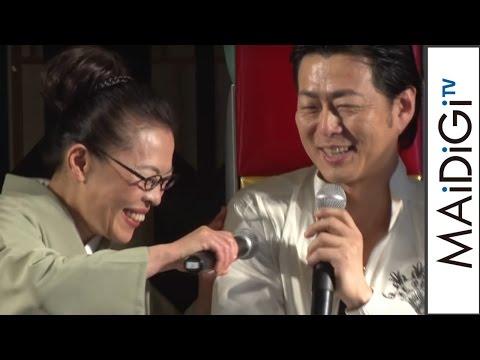 柴田理恵、若手女優にブチ切れる?宅間孝行が暴露 「タクフェス春のコメディ祭!『わらいのまち』」会見3