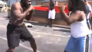 NOCAUT!! Kimbo Slice vs  Dreads