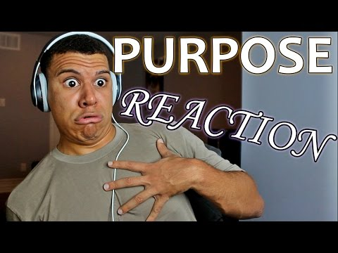 JUSTIN BIEBER PURPOSE ALBUM (CRAZY REACTION!!)