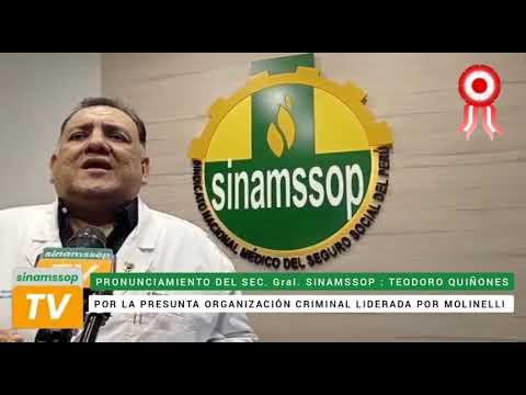 Pronunciamiento del secretario general del SINAMSSOP por la presunta organización criminal...