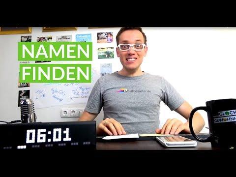 Wie Nenne Ich Mein Unternehmen? Startup Namen Finden Für Unternehmen  | Tag #453