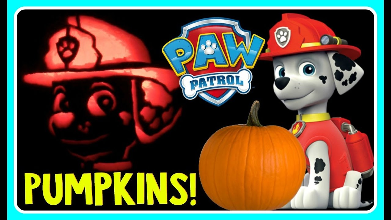 paw patrol pumpkin carving marshall pumpkin carving ideas for