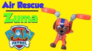 Paw Patrol Air Rescue ZUMA Pack Pup & Badge   NEW 2016 PAW PATROL AIR RESCUE PUPS