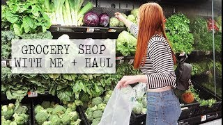grocery shop with me + haul (my go to meals)