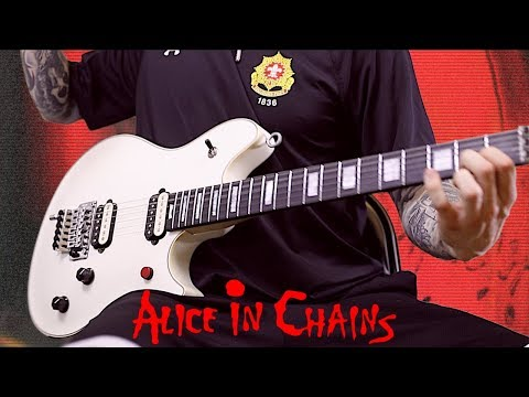 ALICE IN CHAINS - I STAY AWAY GUITAR COVER W/ SOLO - STAY METAL RAY