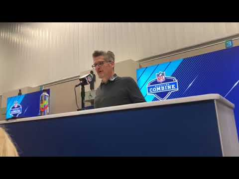 Thomas Dimitroff Atlanta Falcons GM Interview At NFL Combine 2018