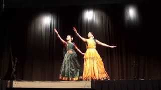 Kathak performance by Sufi Raina and Shivani Joshi