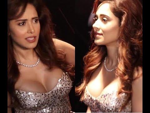 Beautifull Actress Nusrat Barucha Sexiest Milky Boob Slip Video thumbnail
