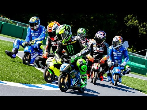 #JapaneseGP: electric mini bike race