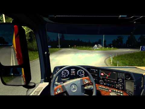 Euro Truck Simulator 2: Goteborg (S) to Orebro (S)(Lamb Stomachs (22t)) [BETA 1.18.0.1s]