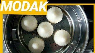 Modak recipe in kannada - Ukdiche Modak - steamed modak