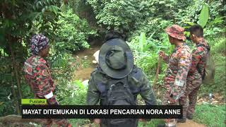 Mayat Ditemukan Di Lokasi Pencarian Nora Anne