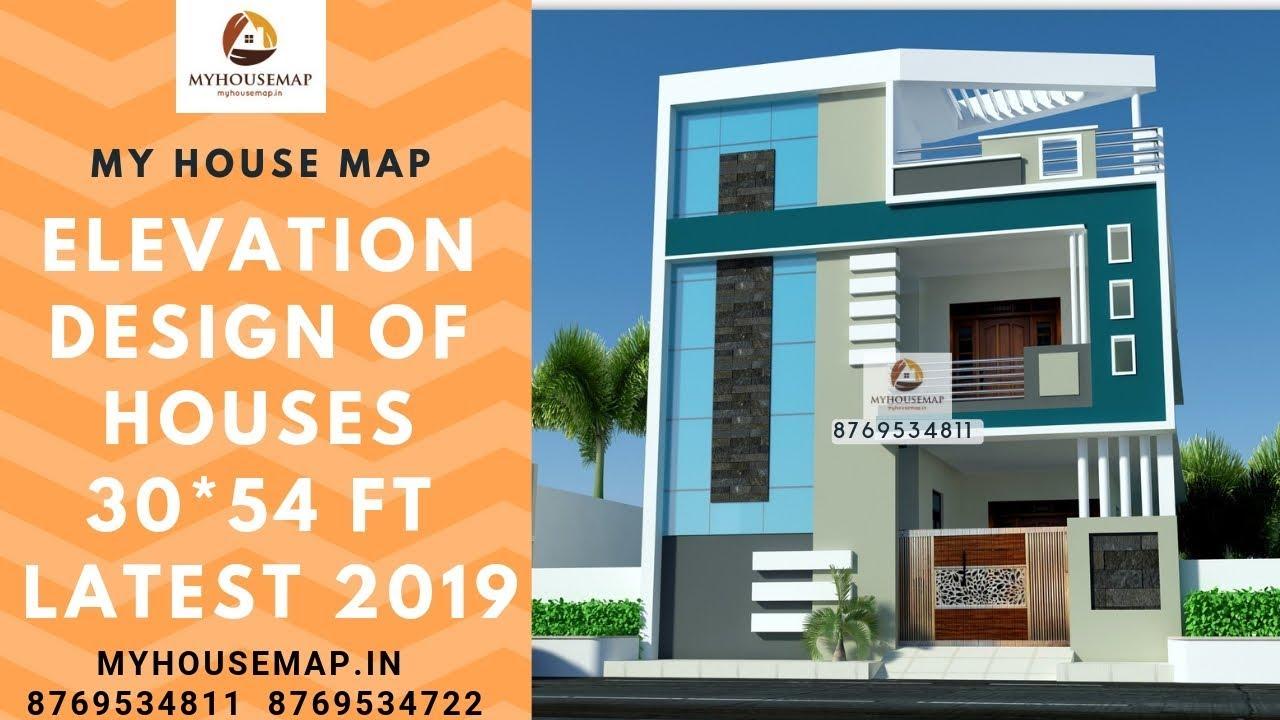 elevation  design  of houses 30 54 ft latest 2019 YouTube