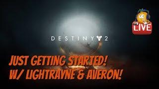 Destiny 2 Warlock Fun! Finishing Base Game Today!