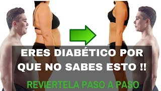 DIABETES Y CÓMO REVERTIRLA NATURALMENTE