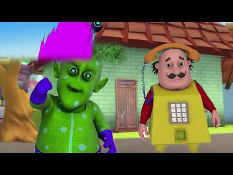 Motu Patlu Alien Dance Dame Tu Cosita Motu Patlu Coloring in Hindi 3D Animation Kids Cartoon thumbnail