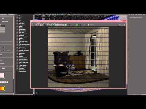 CGI Interior Room Breakdown