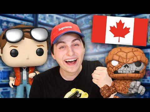 This is a HUGE Deal For Canadian Funko Pop Collectors