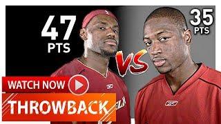 Throwback: LeBron James vs Dwyane Wade Duel Highlights (2006.03.12) Heat vs Cavaliers - EPIC!