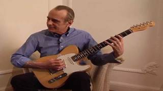Playing the guitar: Francis Rossi plays the shuffle