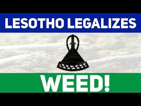 LESOTHO LEGALIZES WEED!