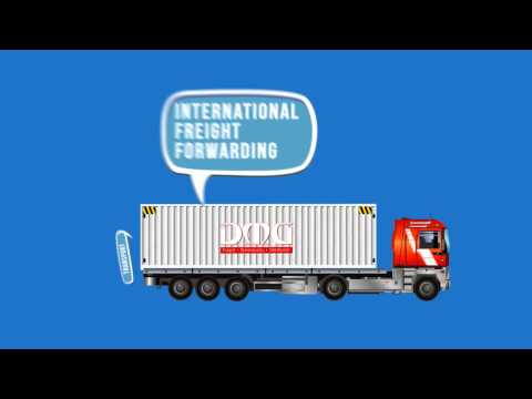 Logistics services explainer video by DMG Freight Services