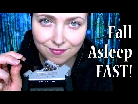 ASMR Sleep Hypnosis & Brushing Mic