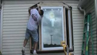 Bay Window Installation Time Lapse Video