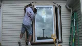 Bay Window Installation Time Lapse Video