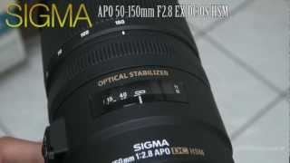 SIGMA APO 50-150 mm F2.8 EX DC OS HSM Focus speed test