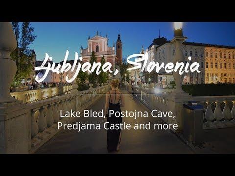 Ljubljana, Slovenia (Caves, Lake Bled)