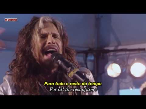 Steven Tyler  I Dont Want To Miss A Thing Acústico  Legendado Português BR