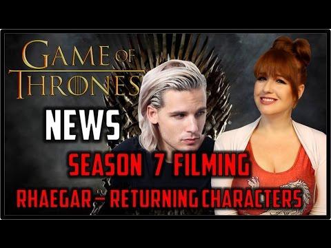 Game Of Thrones News: Rhaegar, Filming, Casting, & Returning Characters