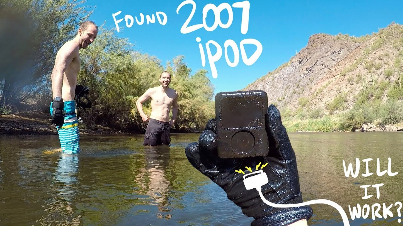 Found 12 Year Old iPod Nano DEEP in the River - Will It Work?!