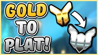 Climing from gold to platinum in 12 days!! | Overwatch