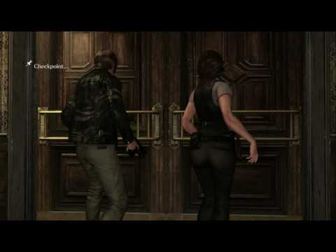 PS4 Resident Evil6 Leon&Helena No hope No herb No die (Co-op)