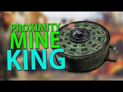 PROXIMITY MINE KING ! Grand Theft Auto V - Lude Trke w/Cale