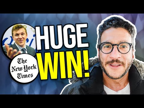 Project Veritas' MASSIVE VICTORY Against the New York Times - Lawyer Explains - Viva Frei Vlawg