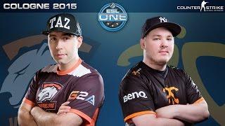 CS:GO - Virtus.Pro vs. Fnatic [Cbble] - ESL One Cologne 2015 - Semifinal Map 3