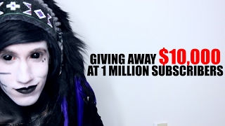 I'm Giving Away $10,000 at 1 Million Subscribers
