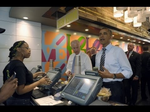 President Obama Goes for Takeout Lunch During Shutdown